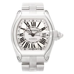 Certified Authentic Cartier Roadster 6420, Mother of Pearl Dial