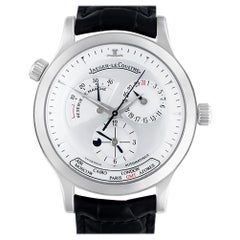 Certified Authentic Jaeger-LeCoultre Master Geographic 9576, Black Dial