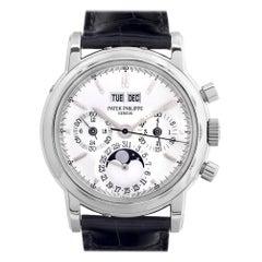 Certified Authentic Patek Philippe Perpetual Calendar166680, Missing Dial
