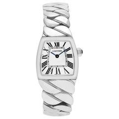 Certified Authentic Cartier La Dona de Cartier 4500, 46 Black Dial