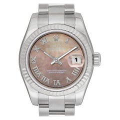 Certified Authentic, Rolex Datejust 7440, Silver Dial