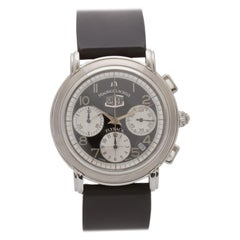 Certified Authentic Maurice Lacroix Flyback 3840, Grey Dial