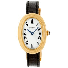 Certified Authentic Cartier Baignoire 5940, Beige Dial