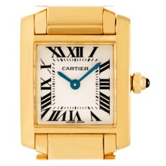 Certified Authentic Cartier Tank Francaise 10320, Silver Dial