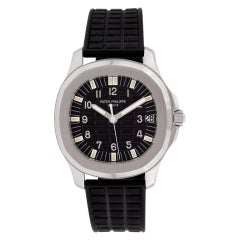 Certified Authentic, Patek Philippe Aquanaut 17400, Black Dial