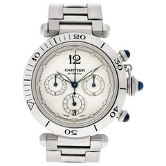 Certified Authentic Cartier Pasha 5988, 32 White Dial
