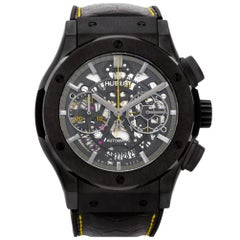 Certified Authentic Hublot Classic Fusion 14880, Silver Dial