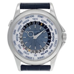 Certified Authentic, Patek Philippe World Time 57480, White Dial