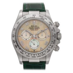 Certified Authentic Rolex Daytona 34200, Blue Dial
