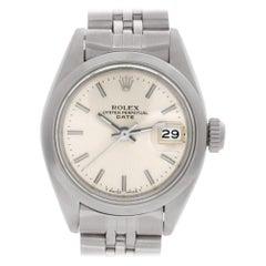 Certified Authentic Rolex Datejust 4260, Beige Dial