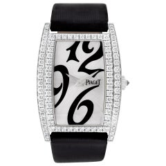 Certified Authentic Piaget Limelight 19800, Silver Dial