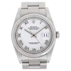Certified Authentic Rolex Datejust 6948, White Dial