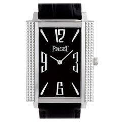 Certified Authentic Piaget Black Tie 9000, Black Dial