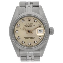 Certified Authentic Rolex Datejust 7319, Blue Dial