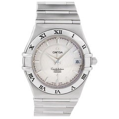 Certified Authentic, Omega Constellation 3180, White Dial