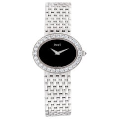 Certified Authentic Piaget Limelight 15000, 28 Black Dial