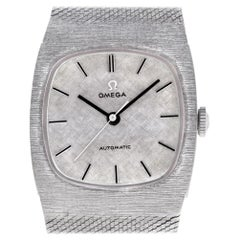 Certified Authentic Omega Classic 4080, White Dial