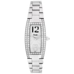 Certified Authentic Piaget Limelight 29148, 18 Silver Dial
