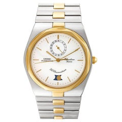 Certified Authentic Girard Perragaux Equation Lune 4416, Beige Dial