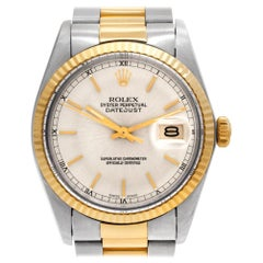 Certified Authentic Rolex Datejust 7140, White Dial