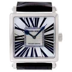 Certified Authentic Roger Dubuis Golden Square 17700, Missing Dial