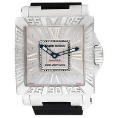 Certified Authentic Roger Dubuis Aqua Mare 9576, Silver Dial