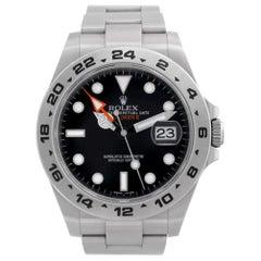 Certified Authentic Rolex Explorer II 8748, Beige Dial