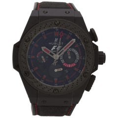 Certified Authentic Hublot King Power 22920, Blue Dial