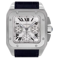 Certified Authentic, Cartier Santos 1007140, White Dial