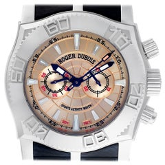 Certified Authentic Roger Dubuis Easy Diver 10794, Gold Dial
