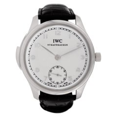 Certified Authentic IWC Portuguese 87480, 47 Black Dial