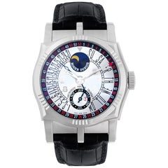 Certified Authentic, Roger Dubuis Sympathie 53820, Silver Dial