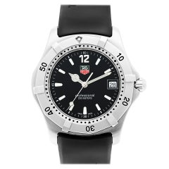 Certified Authentic Tag Heuer Carrera 1020, Black Dial