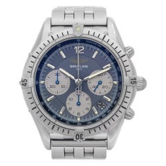 Certified Authentic Breitling Cockpit 2580, Blue Dial
