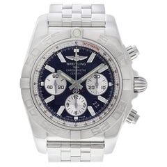 Certified Authentic Breitling Chronomat 7068, Blue Dial