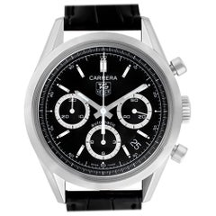 Certified Authentic TAG Heuer Carrera 4080, Black Dial