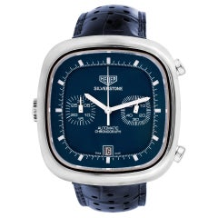 Certified Authentic TAG Heuer Carrera 5070, Blue Dial