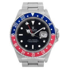 Certified Authentic, Rolex GMT Master 14388, Blue Dial