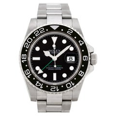 Certified Authentic Rolex GMT Master II 11340, White Dial