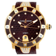 Certified Authentic Ulysse Nardin Marine 22680, Mother of Pearl Dial