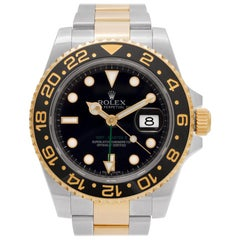 Certified Authentic Rolex GMT Master II14280, Silver Dial