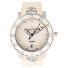 Certified Authentic, Ulysse Nardin Marine 8970, Gold Dial