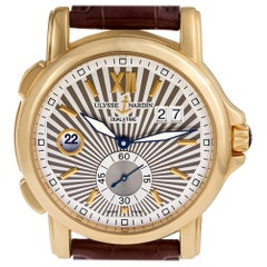 Certified Authentic, Ulysse Nardin Dual Time 17160, White Dial