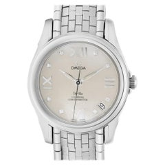 Certified Authentic Omega De Ville 5100, Silver Dial