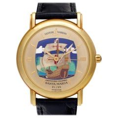 Certified Authentic Ulysse Nardin San Marco 15480, Black Dial