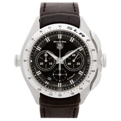 Certified Authentic TAG Heuer Carrera 3480, Silver Dial