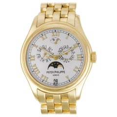 Certified Authentic, Patek Philippe Annual Calendar 39480, Silver Dial