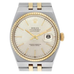 Certified Authentic Rolex Oysterquartz 5760, Silver Dial