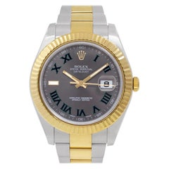 Certified Authentic, Rolex Datejust II12300, Pink Dial