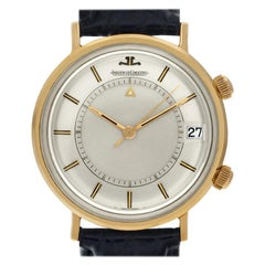 Certified Authentic, Jaeger LeCoultre Memovox 3060, Black Dial